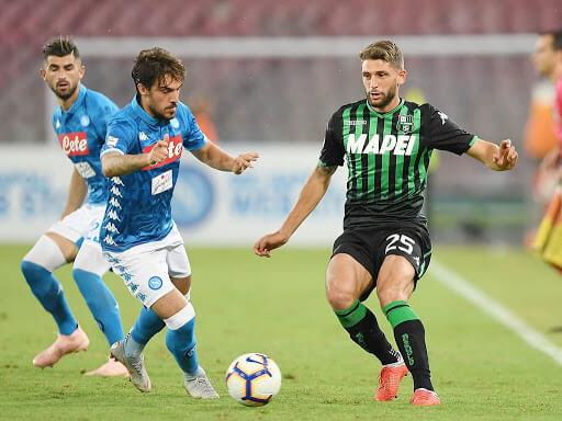 Prediksi Skor Napoli vs Sassuolo 26 Juli 2020 | Gobet899