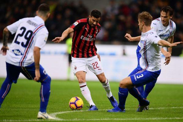 Prediksi Skor Sampdoria vs AC Milan 30 Juli 2020 | Gobet899